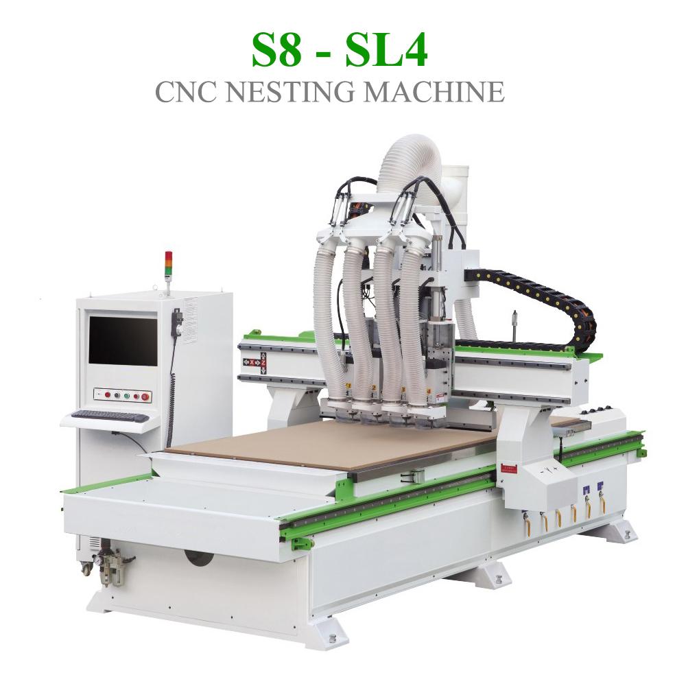 CNC Nesting S8 - SL4