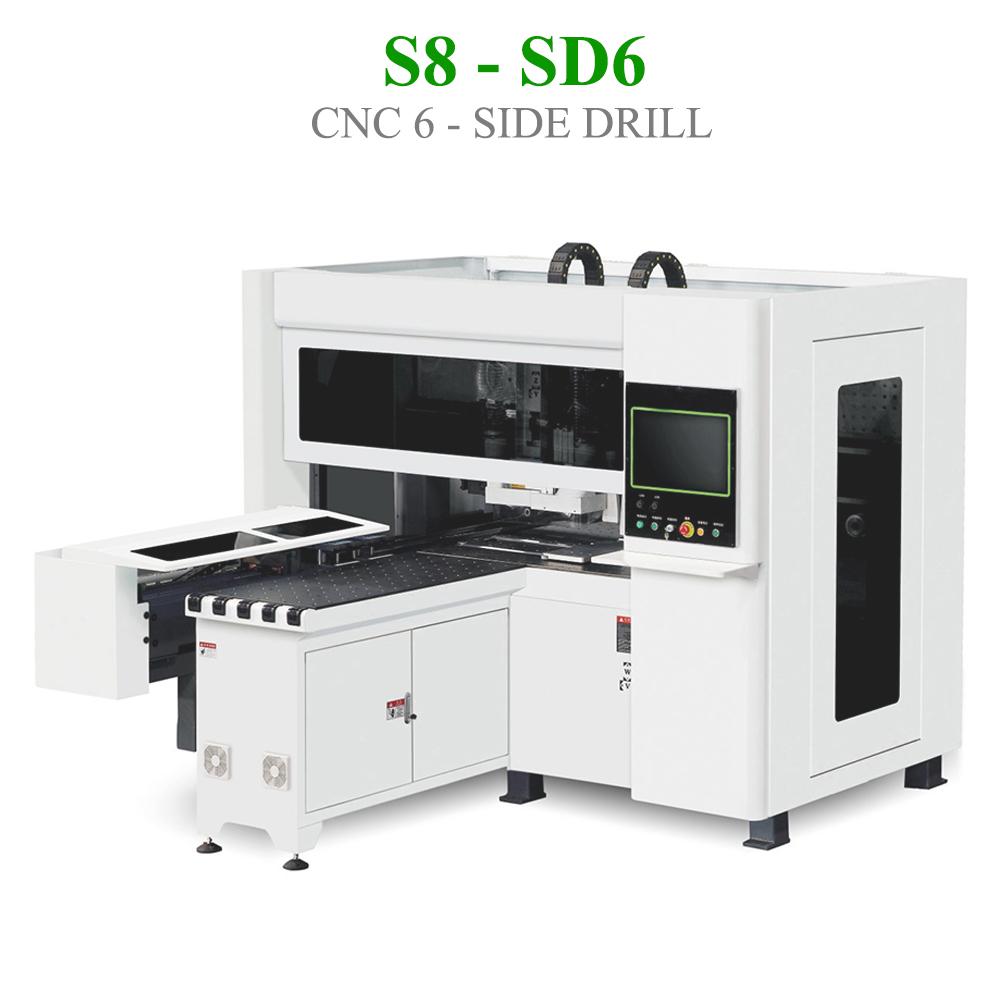 CNC khoan 6 mặt S8 - SD6