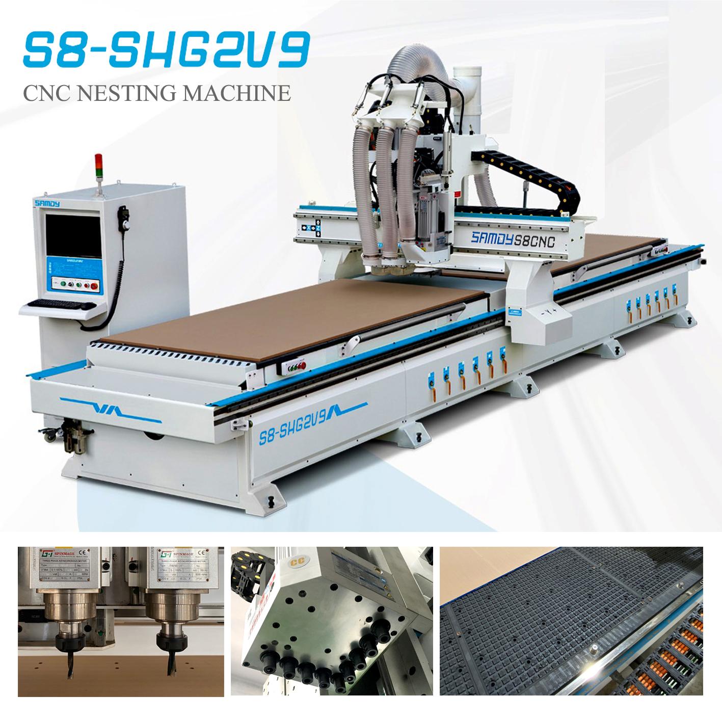 CNC Nesting S8 - SHG2V9