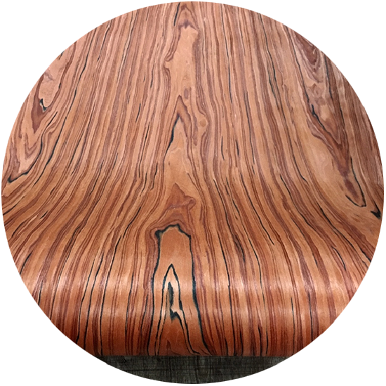 Veneer kỹ thuật vân gỗ Tử Đàn Đỏ kt: 600*2500mm- VN 02