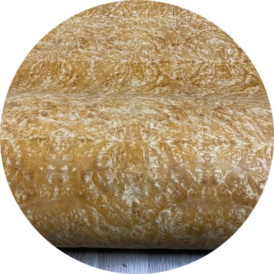 Veneer Nu tự nhiên gỗ Hương Vàng kt: 600*2500 mm  - VN 10