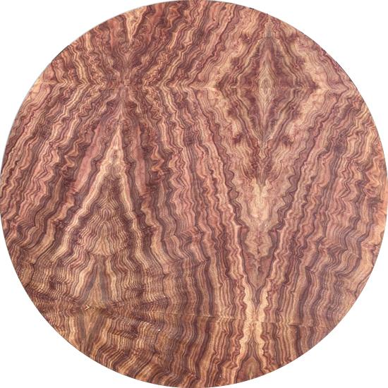 Veneer  Nu tự nhiên Gỗ Cẩm kt: 600*2500 mm - VN 18